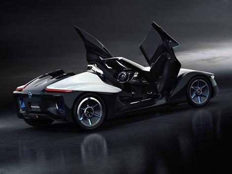Трехместный электрический спорткар от Nissan
