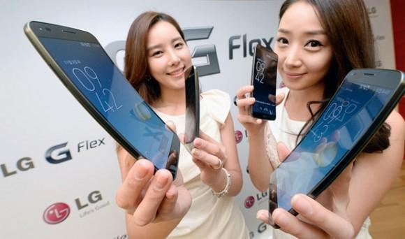 Меандрический телефон «ЭлДжи» G Flex
