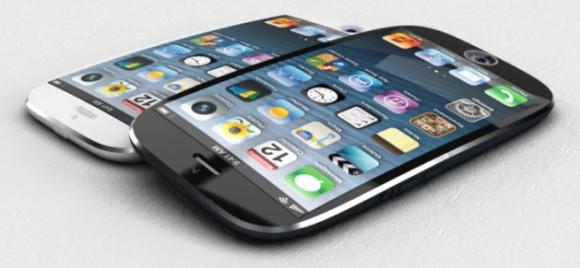Пара огромных Айфон с меандрическим экраном от Эпл