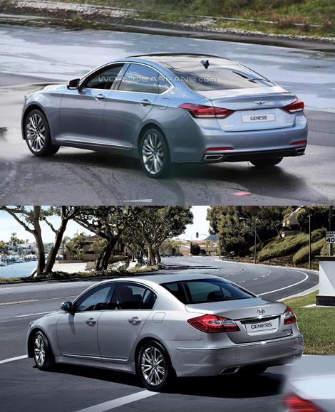 Рассекречен новый седан Hyundai Genesis
