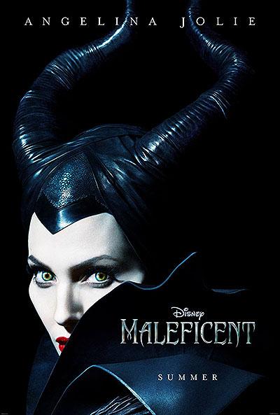 """""""Малефисенты"""": Ведьма Анджелина Джоли на первом постере"""