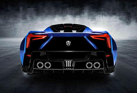 Вторая модель от создателей первого арабского суперкара
