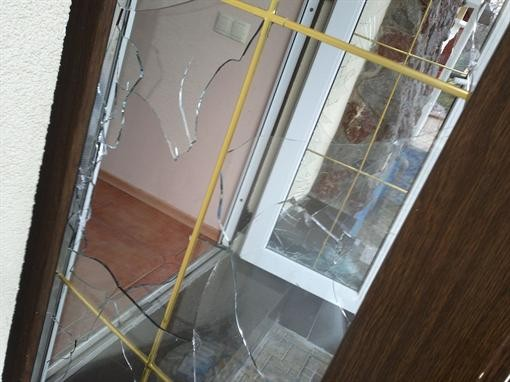 Злоумышленники устроили погром в Харькове