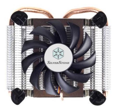Низкопрофильный CPU-кулер AR04 от SilverStone Technology