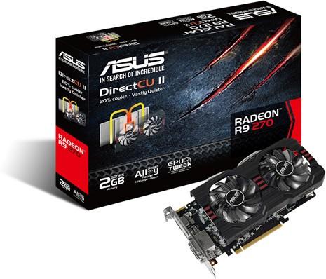 Разогнанные версии адаптера Radeon R9 270 от MSI и ASUS