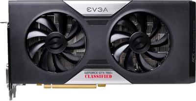 Серия графических адаптеров GeForce GTX 780 Ti от EVGA