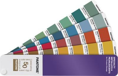 Коллекция Specialty Metallics & Pearlescents от Pantone