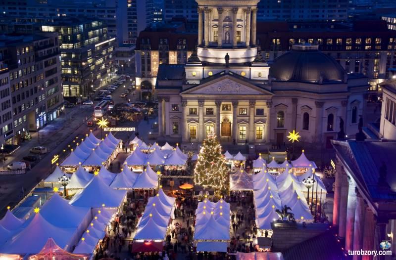 Рождественские рынки Европы ожидают путешественников в 5-и государствах