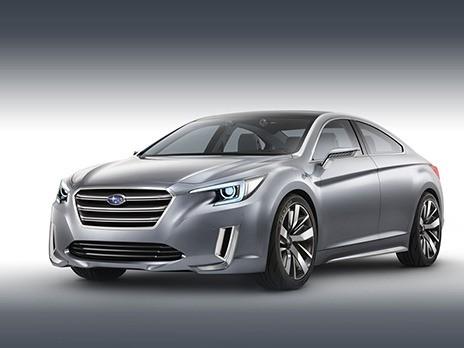 Обнародованы фото нового Subaru Legacy