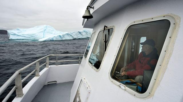 В Антарктике откололся айсберг габаритом с Сингапур (ФОТО)