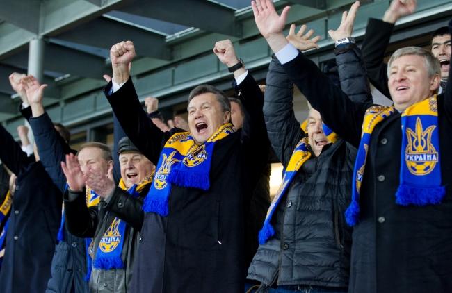 На поединок в Рим Янукович и экс-президенты не отправятся (ФОТО)