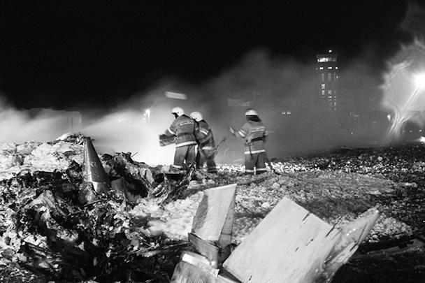 Опубликовано видео катастрофы Boeing в Казани (ВИДЕО)