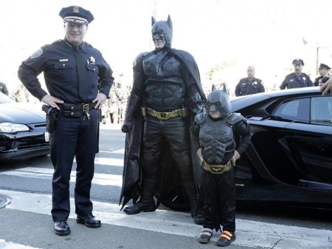 Сан-Франциско стал городом Бэтмена ради больного мальчика