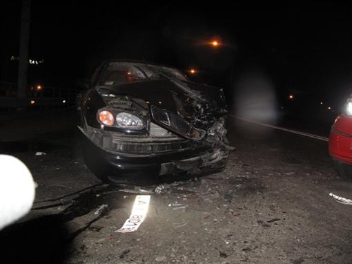 На проспекте Победы в Киеве разбились четыре машины