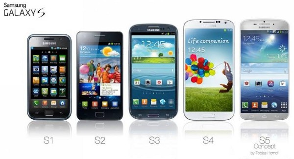 Телефон «Самсунг» Галакси С5 и экран AMOLED 2K