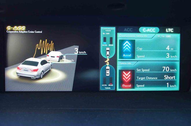 Лексус оборудуют технологиями автопилотирования