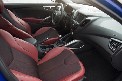 Hyundai Veloster стал более спортивным