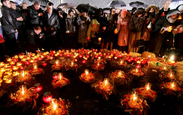 Зажги свечу. Украина подчеркивает 80-ю годовщину Голодомора