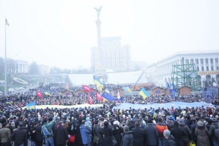 Два выходных дня из жизни Евромайдана