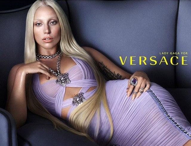 Леди Гага стала лицом Versace (ФОТО)
