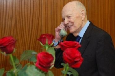 У Бориса Патона юбилей - ему исполнилось 95 лет