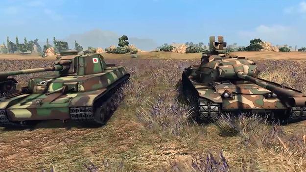 В World of Tanks прибавят японские бронетанки
