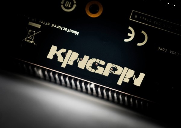Графический адаптер GeForce GTX 780 Ti KingPin Edition от EVGA