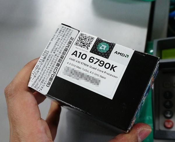 AMD сообщает о старте продаж ускорителя вычисления A10-6790K