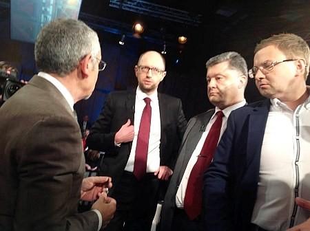 Шустер разъяснил причины скандала на ток-шоу (ФОТО, ВИДЕО)