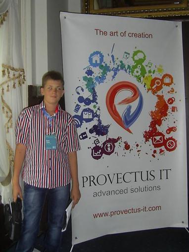 14-летнему основателю из Одессы предсказывают судьбу состоятельного человека