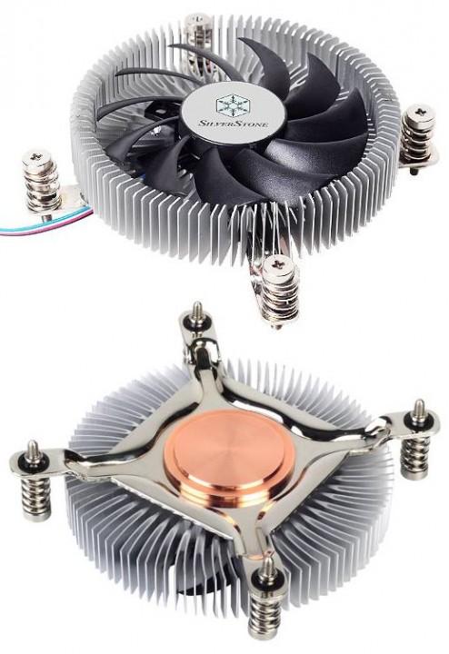 SilverStone Nitrogon NT07-115X: кулер для чипов Intel