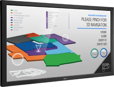 NEC обновила модельный ряд экранов с жидкокристаллическим дисплеем