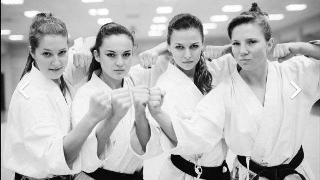 Супруга Левандовского стала чемпионкой мира по каратэ