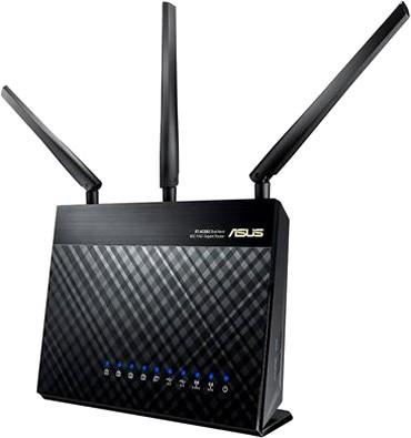 Начало поставок Wi-Fi-роутеров ASUS RT-AC68U