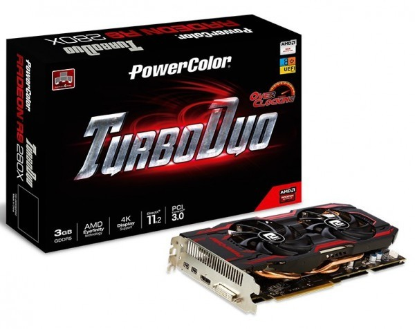 Карта памяти PowerColor TurboDuo R9 280X OC от TUL Корпорэйшн