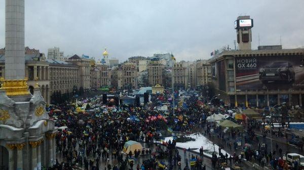 Автоколонна из Харькова привезла на Майдан еду