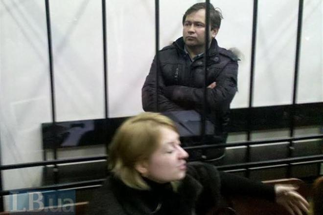 Под Лукьяновским СИЗО воплотили ответ участники автомайдана
