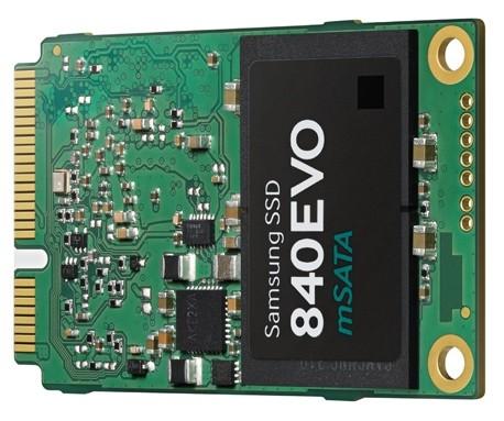 Samsung 840 EVO mSATA SSD: твердотельные накопители