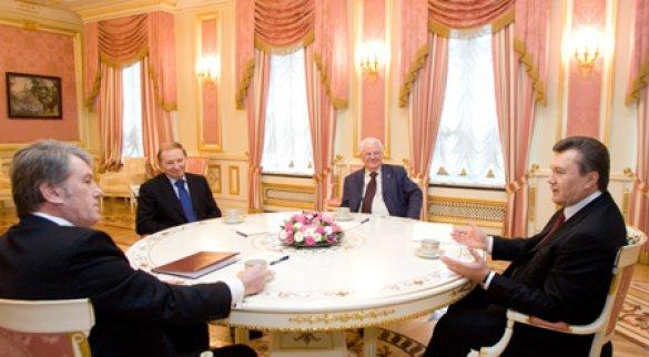 Чем Кравчук, Кучма и Ющенко могут помочь Януковичу?