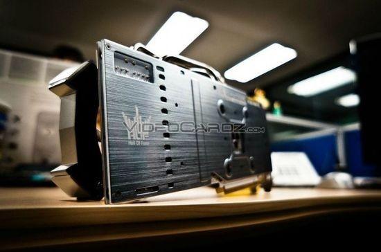 Galaxy GeForce GTX 780 Ti HOF: первые фотоснимки видеокарты