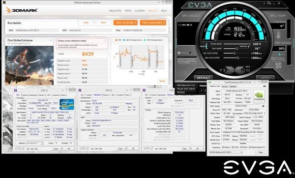 Рекорды EVGA GeForce GTX 780 Ti Classified k|ngp|n Edition