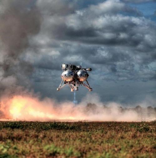 В NASA испытали уникальный посадочный модуль
