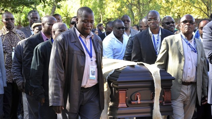 В ЮАР сегодня прощаются с Манделой