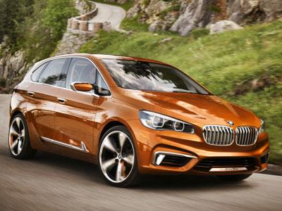 Шпионское фото BMW 2-Series