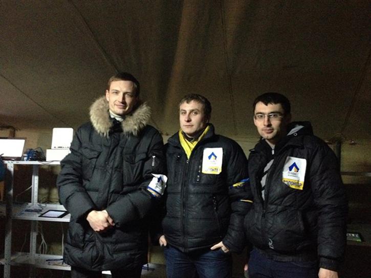 В ИТ-палатку на Майдане необходимы волонтеры и оснащение. ФОТО