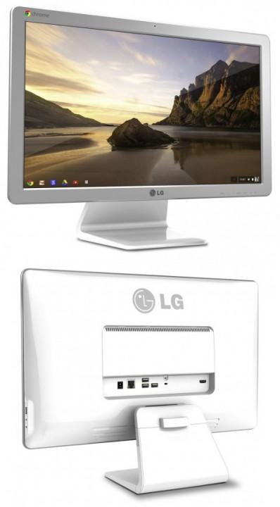 LG покажет первый в мире моноблочный ПК на Chrome OS