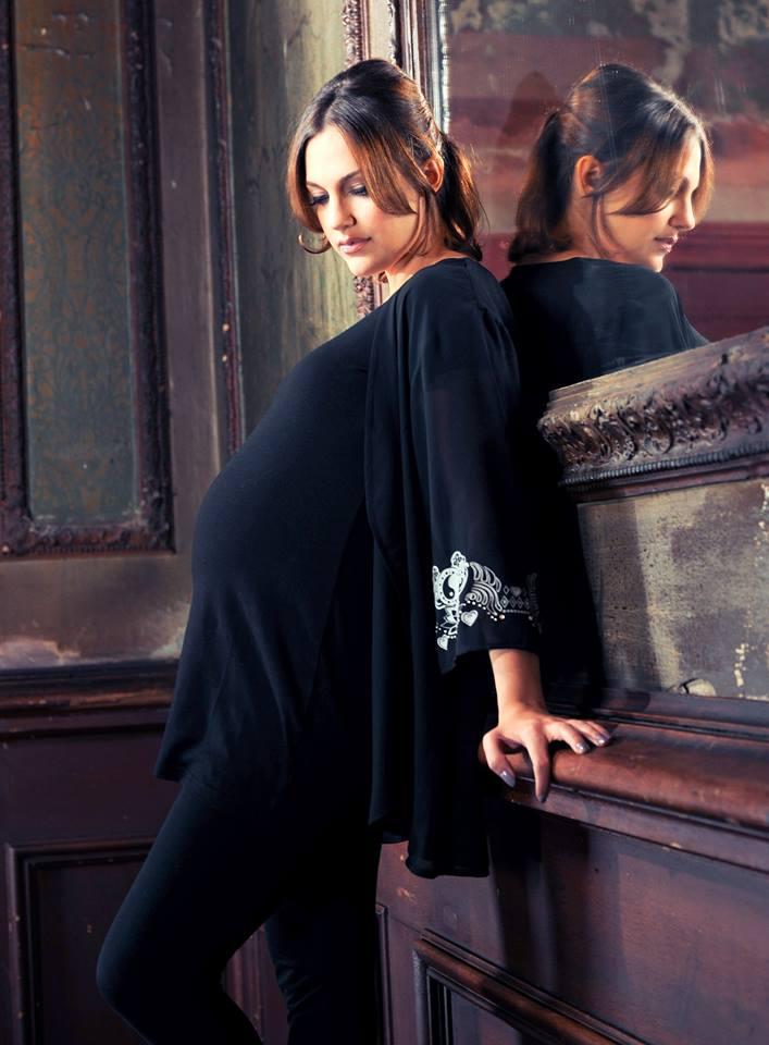 Фото мерьем узерли беременная