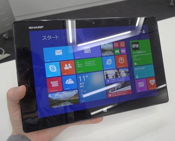 Sharp Mebius Pad: характеристики планшета на Windows 8.1