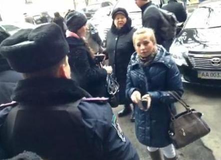 Из-за молебна милиция не пускала киевлян в собственные дома