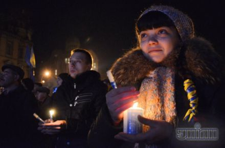 В Киев сегодня пришел Вифлеемский свет
